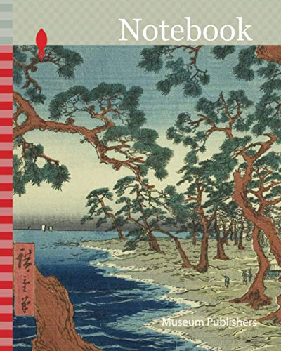 Notebook: Harima Province: Maiko Beach (Harima, Maiko no hama), from the series Famous Places in the Sixty-odd Provinces (Rokujuyoshu meisho zue), ... 1797-1858, Japan, Color woodblock print