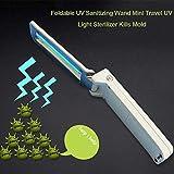 Home Desinfección UV lámpara de uso doméstico portátil Desinfección Lámpara portátil de mano plegable del recorrido del hogar de la lámpara pequeña esterilización del esterilizador ( Size : L125 )