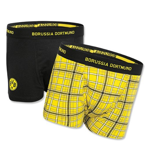 BVB 09 Borussia Dortmund Retroshorts 2er-Pack Gr. XXL Retro Shorts