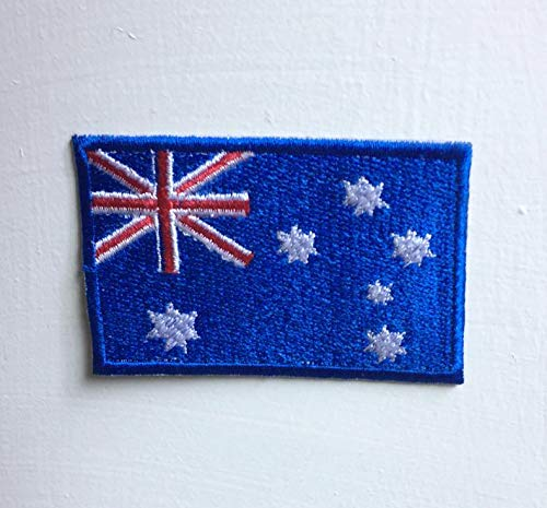 Australië Land Vlag Badge Iron of naai op Geborduurde patch