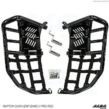 Yamaha Raptor 350 YFM 350 (2004-2013) Propeg Nerf Bars Black Bars w/Black Net
