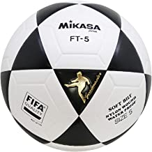Taille 5 Blanc Noir Mikasa 3330 Ballon de Football Foot Loisirs Mixte Adulte