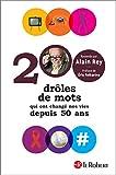 200 drôles de mots qui ont changé nos vies depuis 50 ans (Histoires de mots) - Format Kindle - 12,99 €