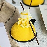 homEdge Stampo in silicone extra large a 5 cavità semi-sfera, stampo da 3 confezioni per fare cioccolato, torta, gelatina, mousse a cupola #3