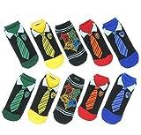 5 pares de calcetines de primavera e invierno de Harry Potter para adultos, mujeres, hombres, niños, niñas, calcetines tobilleros para Halloween, cosplay