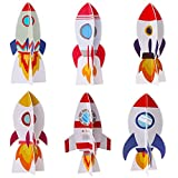 Yewong 6 Pieces Outer Space 3D Table Centerpiece...