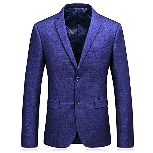 Mieuid Slim Fit Sportieve Sakko Blazer Pak Jacket Lange mouwen VrijetijdsSakko Chic Casual Smoking Blazer