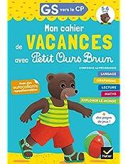 Cahier de vacances Petit Ours Brun GS vers CP 5/6 ans