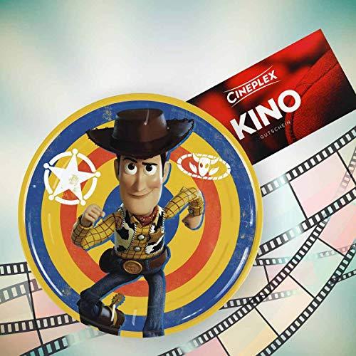 Cineplex Toy Story 4 Filmdose mit 1 Kinogutschein 2D