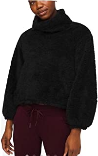 Lululemon Athletica Warmth Restore Sherpa Pullover (Black, Size XS/S)