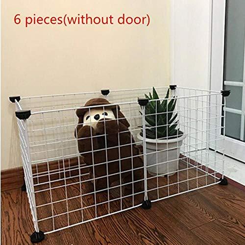 Hundekissen Hundematte Hundebett Faltbare Haustierzaun-Tore Für Hundekatzen-Sicherheitskräfte Installieren Sie Einfach Das Einschließen Von Hundezäunen Welpen-Zwingerhaus-Übungstr