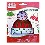 Winter Hat Cookie Cutter - Stainless Steel