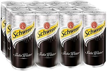Schweppes Soda Water, 12 x 320ml