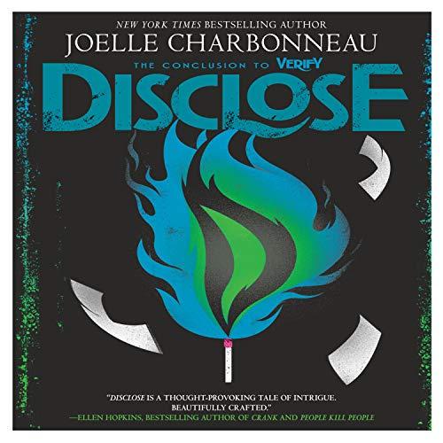 Disclose audiobook cover art