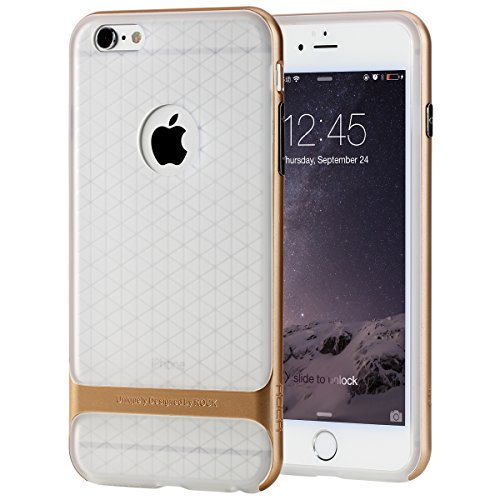 Nakoda Rock Royce 2 Transparent Series Case for Apple iPhone 6 - Champagne Gold