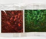 ロッテ ビックリマン ホロセレクション2 ヘラクライスト 赤 緑ホログラム 2枚セット