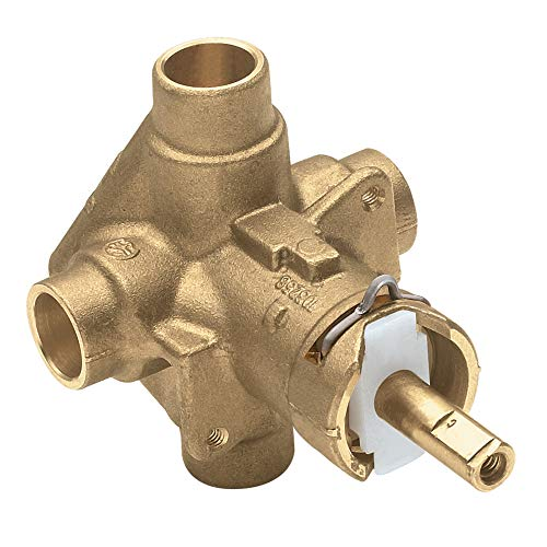 Moen 2520 Posi-Temp Pressure Balancing Shower Rough-In Valve, 1/2-Inch CC Connection