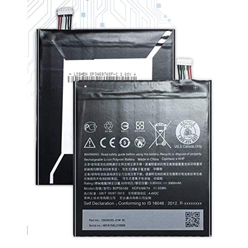 The Black Store Orignal B2PS5100 Battery for HTC Desire 10 Pro/HTC One x9 / D10W / X9U / X9E / E56ML (3000mAh)