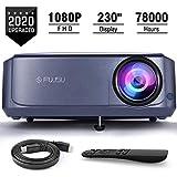 Proiettore,FUJSU 6800 Lumen Nativo 1920x1080P Videoproiettore Full HD Portatile Cinema Pro...