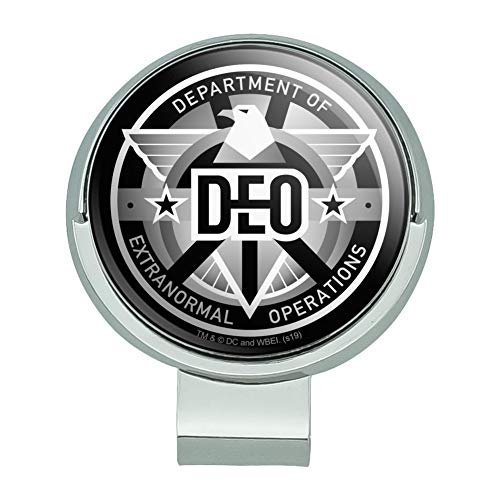 GRAPHICS & MORE Supergirl TV-Serie DEO Department of Extranormal Operations Emblem Golf Hut Clip mit magnetischem Ballmarker