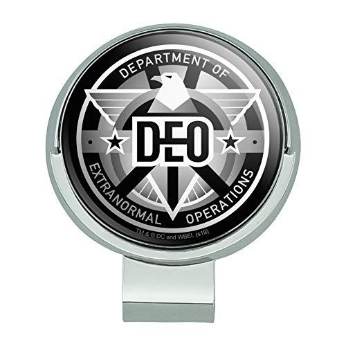 GRAPHICS & MORE Supergirl TV-Serie DEO Department of Extranormal Operations Emblem Golf Hut Clip mit magnetischem Ballmarker