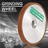Afilar una rueda de 180-Mesh Resina Afilar Eficaz para el lijado de superficies de piedra de cerámica.