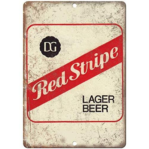 VEHFA Red Stripe Lager Beer Vintage Ad 12
