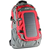 Mochila de senderismo, 7paredes panel solar carga para Smart teléfonos móviles y Tablets, GPS, eReaders, Altavoces bluetooth, GoPro Cámaras