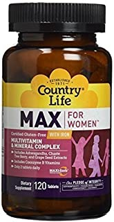 Country Life - Maxi-Sorb Maxine for Women - 120 tabs