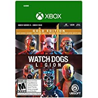 Watch Dogs: Legion Gold Edition for Xbox One /Xbox Series X S