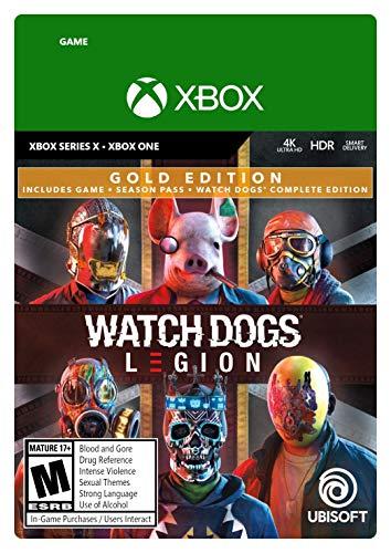 Watch Dogs: Legion Xbox Series X|S, Xbox One Gold Edition [Digital...