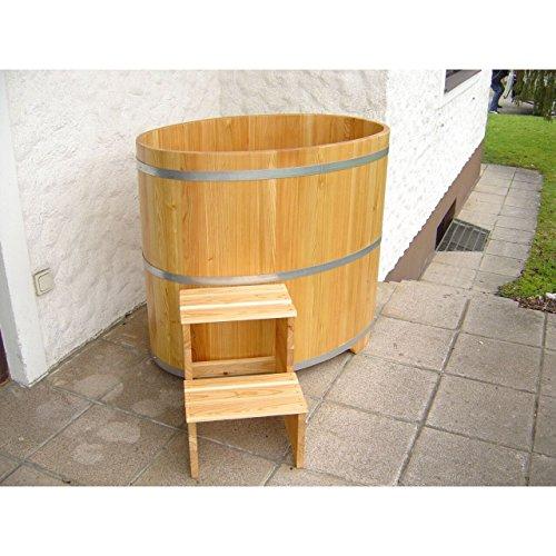 Achleitner Holzwaren Sauna Tauchbecken aus Lärchenholz farblos beschichtet 741