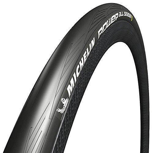 Michelin Power all Season, Copertura per Bicicletta Unisex Adulto, Nero, 700x25