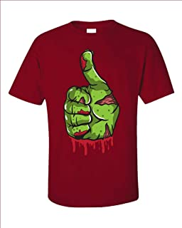 Groovy Gifts For All A Bloody and Scary Zombie Thumbs Up - Unisex T-Shirt