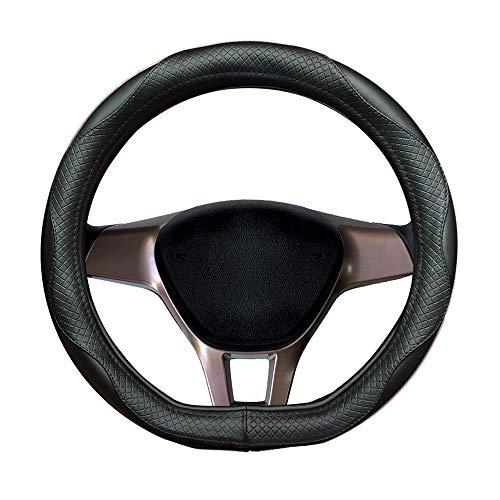 Funda de volante de piel auténtica para Tiguan, nuevo Tiguan Allspace, Touareg, Passat