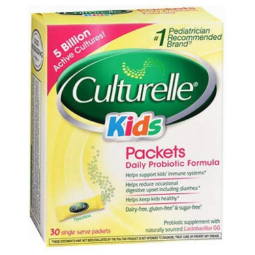 Culturelle Kids Packets Daily Probiotic Supplement 30 Each ( Pack of 10) Kentucky
