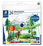 STAEDTLER 146C C24 ST Design Journey. Caja metálica con 24 lápices acuarelables de colores surtidos