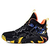 Verna Polly Mens Fashion Sneakers Running Tennis Shoes Lightweight Sport Gym Jogging Hip Hop Walking Athletic Breathable Comfortble Basketball Shoes