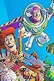 ZFB8B Rompecabezas Creativo Animado Toy Story Woody Rompecabezas 1000 Piezas de Buzz Lightyear de Madera Rompecabezas de Montaje de Inteligencia Desafío Juguetes decoración del hogar