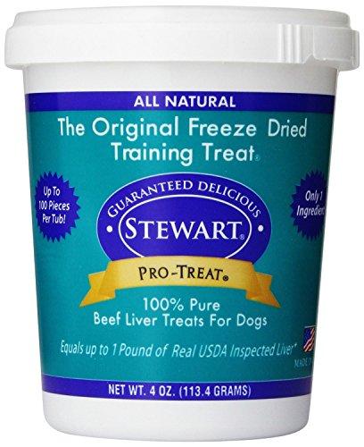 Stewart Freeze Dried Beef Liver Dog Treat 4 oz.