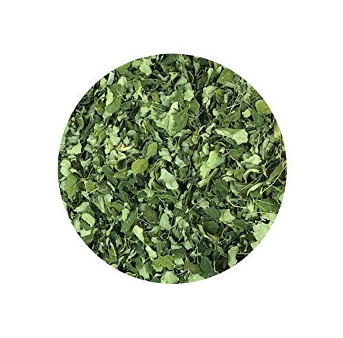 Bio Moringa Blätter Tee aus Togo, biologischem Anbau - reine Moringablätter oder Kräutertee-Mischung wahlweise mit Zitronengras, Hibiskus - Tee Genuss pur (Moringa pur (50g))