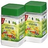 Castelló Since 1907 Edulcorante Stevia + Eritritol 1:8 - Paquete de 2 x 300 gr - Total: 600 gr