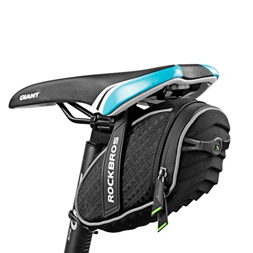 ROCKBROS Bike Seat Bag Waterproof, Bicycle Saddle Bag Under Seat 3D Shell Cycling Seat Pack for...