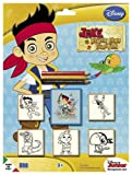 Multiprint - 5879 - Loisir Créatif - Blister 5 Tampons - Jake Le Pirate