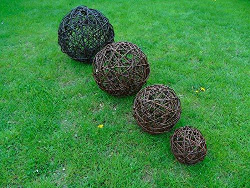 Beste Angebote Weidenkugel Weidenball Dekokugel Kugel Rebenkugel Dekobälle Garten 10 bis 35cm (20cm)