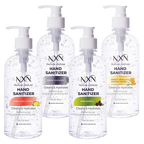 NxN Hand Sanitizer 70% Alcohol, Variety Pack: Fresh...