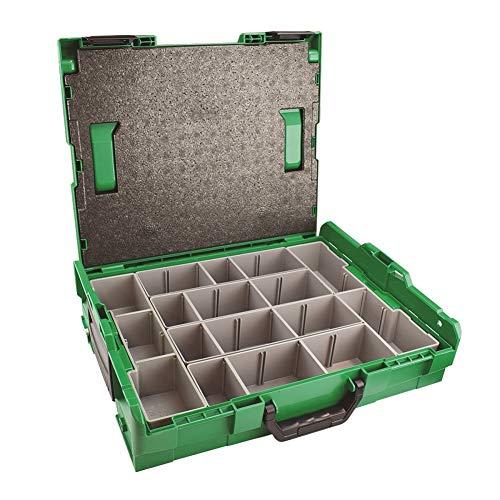 SPAX Montagekoffer Sortimo L-Boxx Aufbewahrungskoffer für Schrauben - ohne Zubehör (5000009166019)