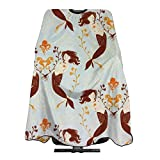 Easy Clean Mermaids And Octopus And Seahorse Haircut Apron Salon Shawl 55 X 66 In