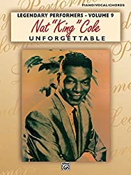 Nat king cole: unforgettable (pvg) piano, voix, guitare