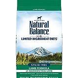 Natural Balance L.I.D. Limited Ingredient Diets Dry Dog Food, Lamb Formula, 12 Pounds, Grain Free